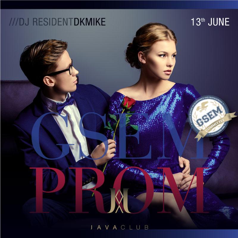 GSEM Prom